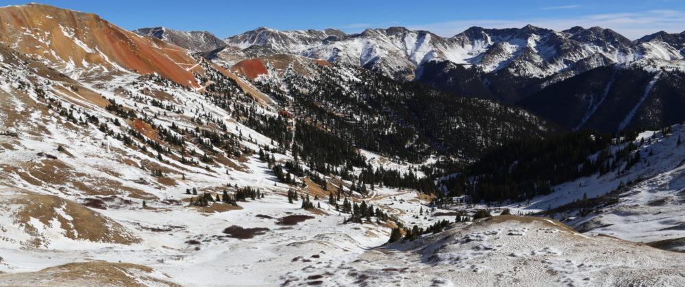 photo of San Juan Mountains near Red Mountain Pass