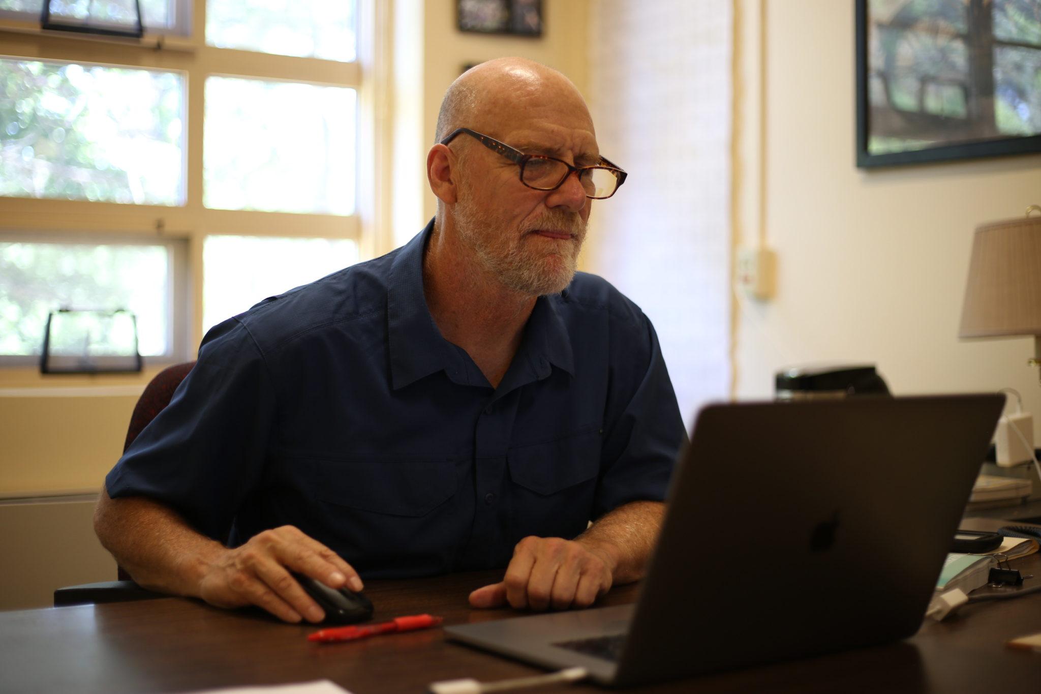 Alan Bright in office