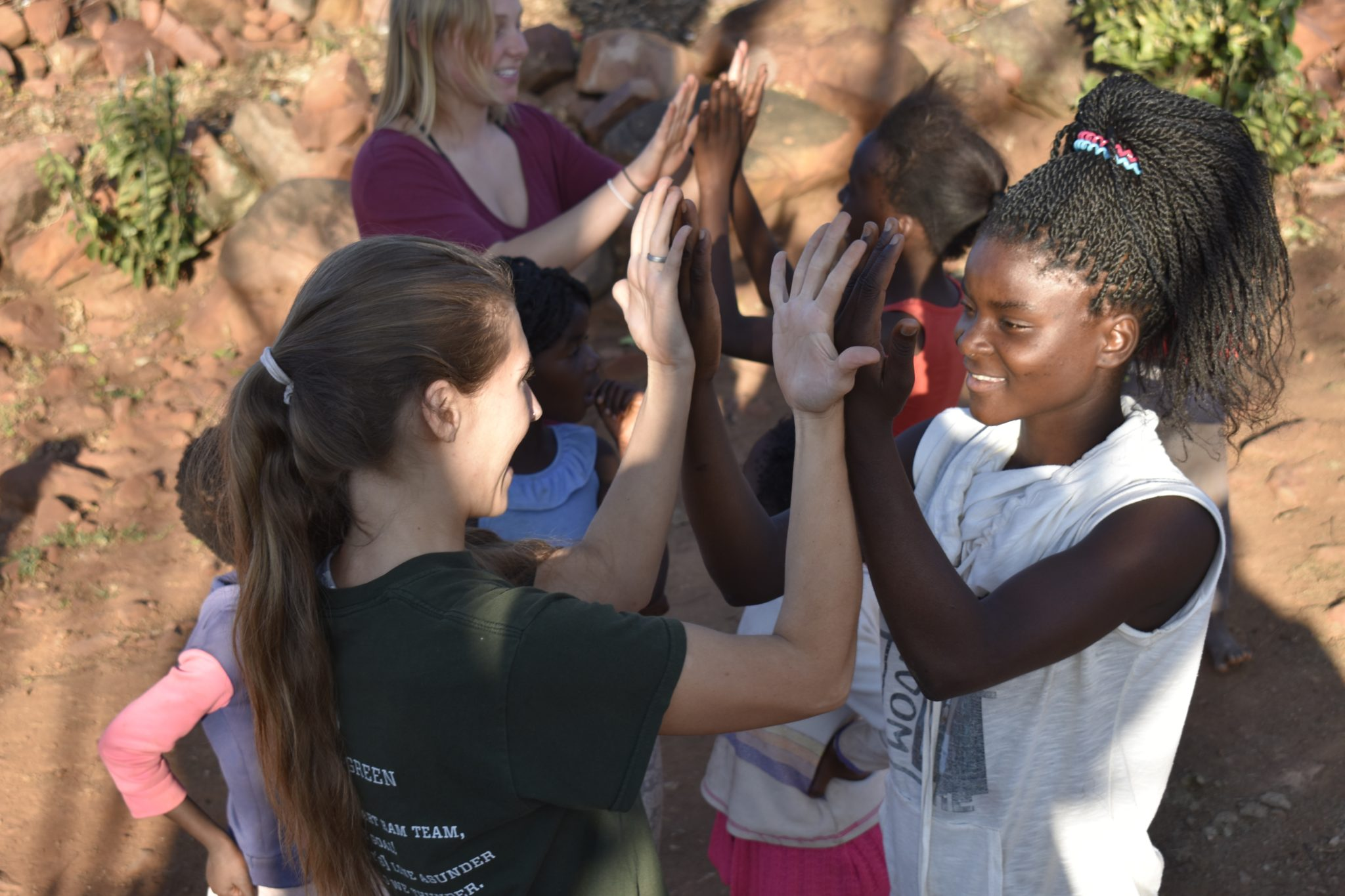 CSU student in South Africa