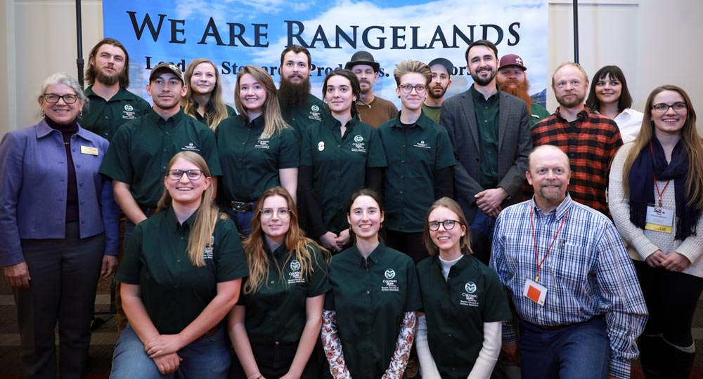 CSU Rangeland students and faculty