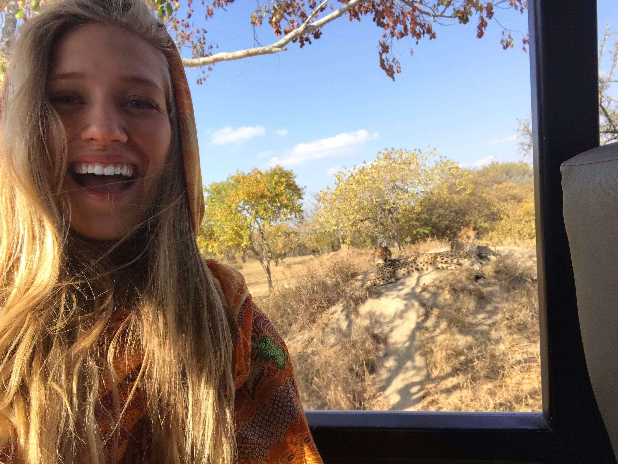 Tess in South Africa