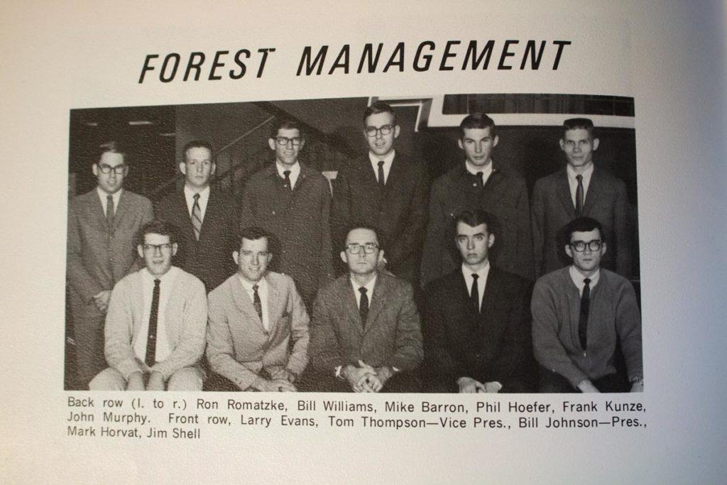 1968 CSU Forest Management Club