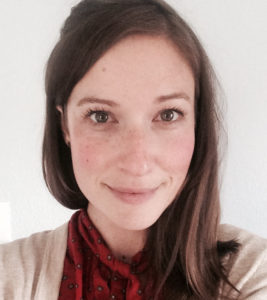 headshot of Caitlin Wells, postdoctoral researcher at CSU