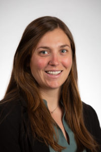 headshot of Claire Carver, graduate student at CSU
