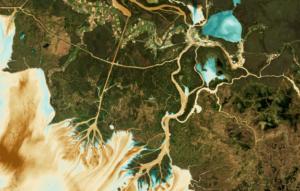 LandSat Image of Mississippi Delta