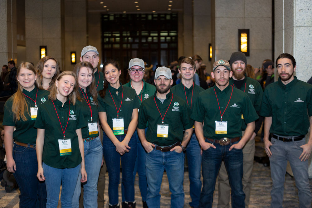 CSU range students at SRM 2020