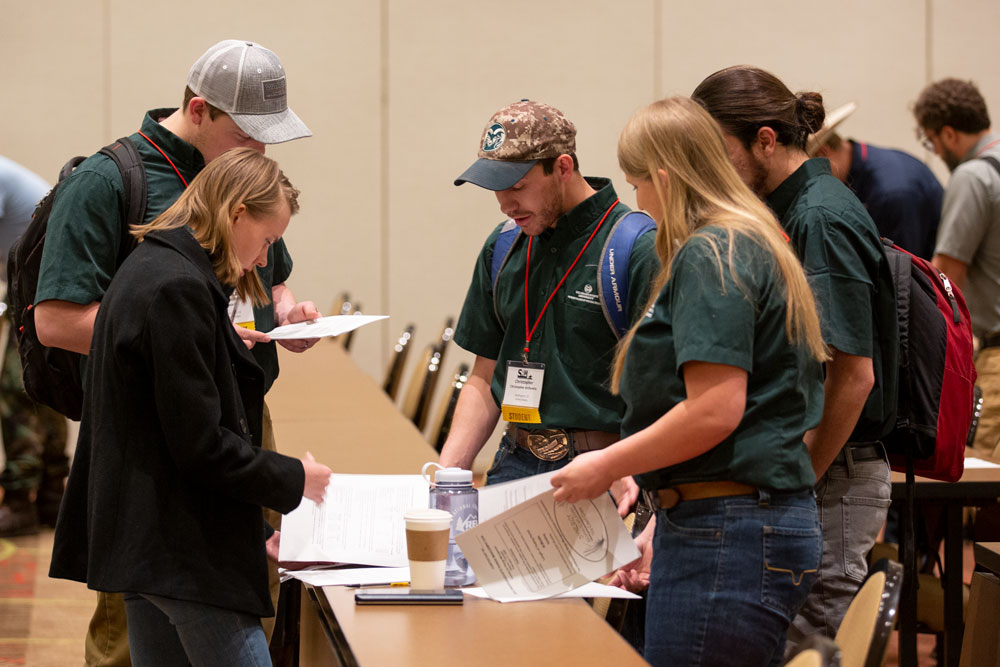 CSU range students check tests at SRM 2020