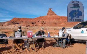 CSU professor Joel Berger works with other scientists on Navajo Nation lands