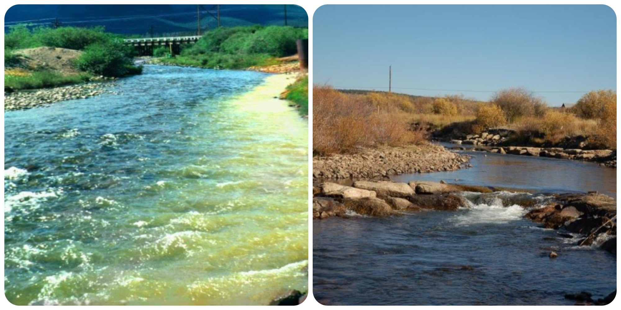 the Arkansas River as a Superfund site in 1996, and in 2015 as a gold medal trout stream